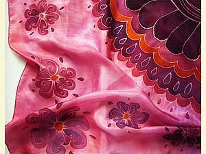 Restyle: новая жизнь старого платка   Ярмарка Мастеров - ручная работа, handmade