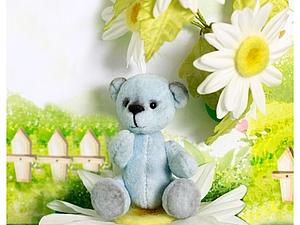 Мини-мишка Тедди за 1 день ! | Ярмарка Мастеров - ручная работа, handmade