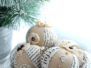 В продаже!!!  Набор новогодних шаров