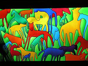 Эффектный декор стеклянной фоторамки (роспись по стеклу в витражной технике)   Ярмарка Мастеров - ручная работа, handmade
