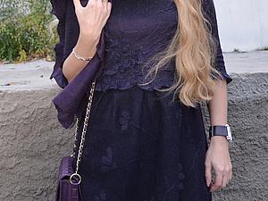 Семинар по валянию платья в технике нуно-войлок. | Ярмарка Мастеров - ручная работа, handmade