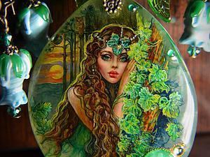 ,,Ей милей прохлада леса,,   Ярмарка Мастеров - ручная работа, handmade