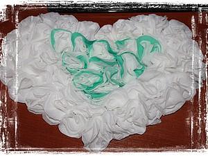 Делаем свадебное сердечко из подручных материалов. Ярмарка Мастеров - ручная работа, handmade.