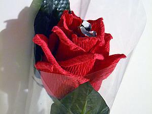 Мастер-класс: сладкий сюрприз «Роза». Ярмарка Мастеров - ручная работа, handmade.