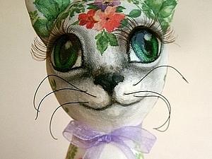 Аукцион весенних Цветочных Кошечек | Ярмарка Мастеров - ручная работа, handmade
