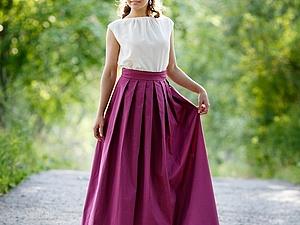 Длинные юбки не теряют своей актуальности...   Ярмарка Мастеров - ручная работа, handmade