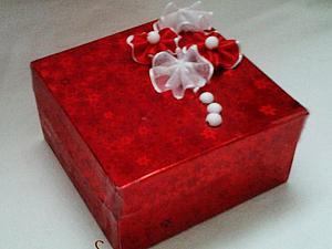 Мастер-класс: Коробочка для Подарка!. Ярмарка Мастеров - ручная работа, handmade.