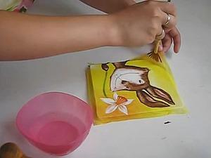 Как приклеить салфетку без складок?. Ярмарка Мастеров - ручная работа, handmade.
