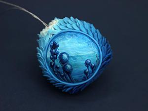 Создаем новогодний шар из бархатного пластика: пример работы с материалом. Ярмарка Мастеров - ручная работа, handmade.