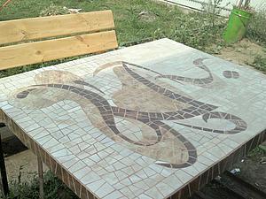 Создаем стол для веранды