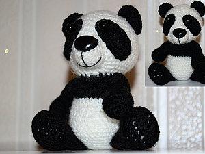 Панда | Ярмарка Мастеров - ручная работа, handmade