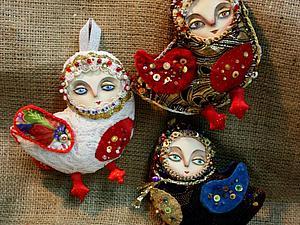 Гамаюн. Птичка счастья | Ярмарка Мастеров - ручная работа, handmade