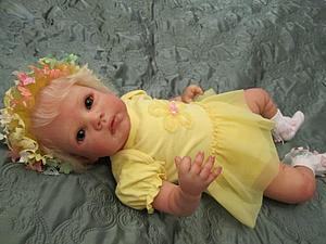 Малышка Есения - кукла реборн Инны Богдановой | Ярмарка Мастеров - ручная работа, handmade
