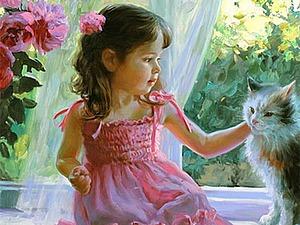 Мамино Счастье, или Мир солнечного детства художника Владимира Волегова   Ярмарка Мастеров - ручная работа, handmade