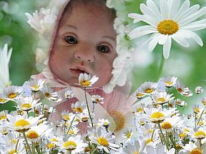 Малышка Ксюшенька - куклы реборн Инны Богдановой | Ярмарка Мастеров - ручная работа, handmade