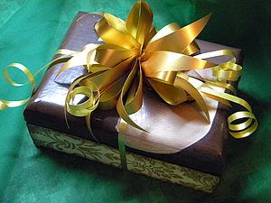 Упаковка подарков: бант-шар  за 3 минуты | Ярмарка Мастеров - ручная работа, handmade