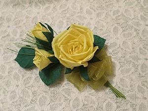 Делаем свадебную бутоньерку для жениха. Ярмарка Мастеров - ручная работа, handmade.