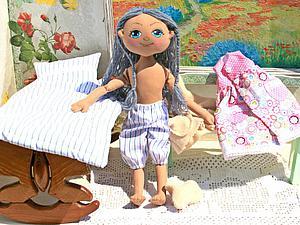 Шьём веселую куклу для девочки. Часть вторая. Ярмарка Мастеров - ручная работа, handmade.