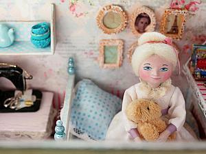 Домик для авторской куклы | Ярмарка Мастеров - ручная работа, handmade