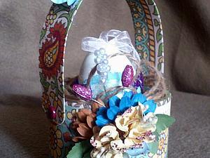 Мастерим корзинку на Пасху | Ярмарка Мастеров - ручная работа, handmade