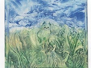 Энкаустика апреля- малые формы 10х13 и 13х17 - 1 серия | Ярмарка Мастеров - ручная работа, handmade