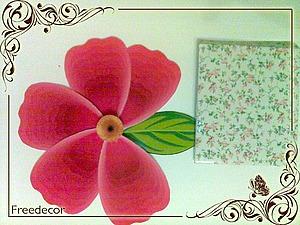Создание открытки (Papercraft) «Весенняя свежесть». Ярмарка Мастеров - ручная работа, handmade.