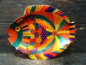 Роспись стекла с золочением - делаем бесподобную тарелку! | Ярмарка Мастеров - ручная работа, handmade
