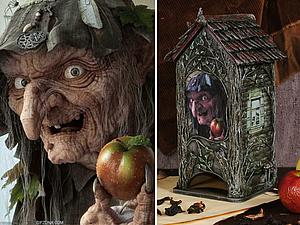 Баба Яга на все времена! Декорируем чайный домик | Ярмарка Мастеров - ручная работа, handmade