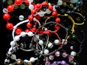 Создаем браслет шамбала. Часть 1. Ярмарка Мастеров - ручная работа, handmade.
