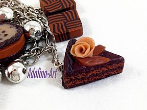 Полимерная глина - Тортики и сладости | Ярмарка Мастеров - ручная работа, handmade
