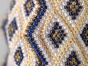Искусная вышивка бисером по-мексикански. Ярмарка Мастеров - ручная работа, handmade.