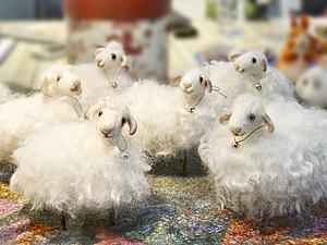 М/к по валянию Овечки -символа 2015 года!   Ярмарка Мастеров - ручная работа, handmade