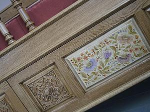 роспись мебели, курс роспись мебели, расписная мебель, обучение роспись