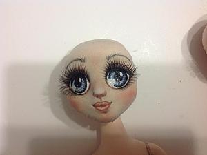 Мастер-класс по раскраске кукольных глазок | Ярмарка Мастеров - ручная работа, handmade