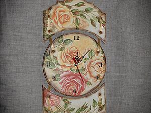 Аукцион. Настенные часы . | Ярмарка Мастеров - ручная работа, handmade