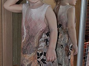 Как валялось двустороннее детское платье-сарафан. Ярмарка Мастеров - ручная работа, handmade.