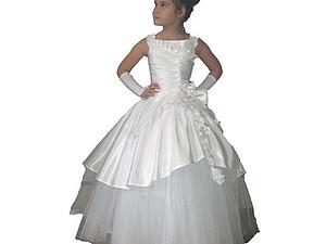 Нарядное платье - лучший подарок маленькой принцессе   Ярмарка Мастеров - ручная работа, handmade