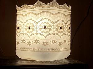 Светильник из пластиковой канистры | Ярмарка Мастеров - ручная работа, handmade