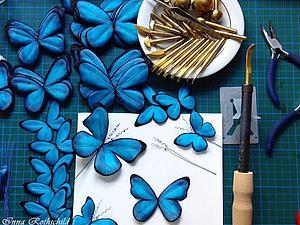 Шелковые бабочки и победа в конкурсе от ЯМ! | Ярмарка Мастеров - ручная работа, handmade