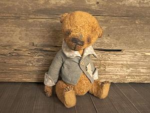 Конфетка розыгрыш старенького плюшевого мишки . | Ярмарка Мастеров - ручная работа, handmade