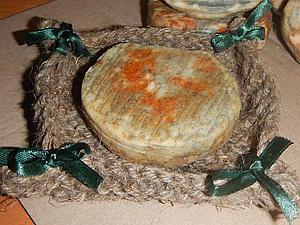 Эко-мыльницы из джутового шпагата   Ярмарка Мастеров - ручная работа, handmade