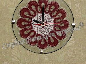Часы с кружевом | Ярмарка Мастеров - ручная работа, handmade