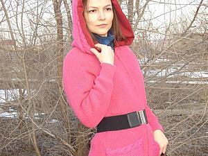 Шьём пальто из старого свитера. Ярмарка Мастеров - ручная работа, handmade.