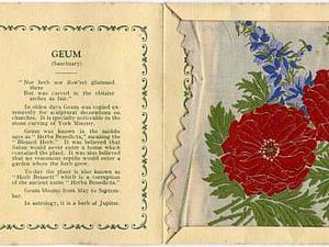 Старинные сигаретные карточки с вышивками: изящные работы в пачках «Kensitas». Ярмарка Мастеров - ручная работа, handmade.