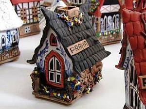 Керамические домики | Ярмарка Мастеров - ручная работа, handmade