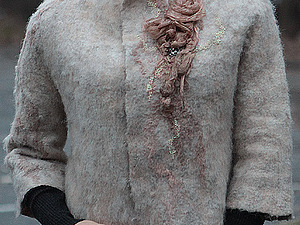 МК по валянию жакета | Ярмарка Мастеров - ручная работа, handmade