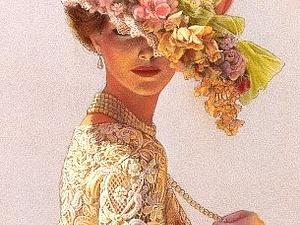 Леди Викторианской эпохи от Сью Хэлстенберг | Ярмарка Мастеров - ручная работа, handmade