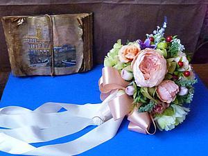 Свадебные тренды - 2015 : букет невесты | Ярмарка Мастеров - ручная работа, handmade