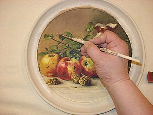 Секреты декупажа: как приклеить салфетку на темный фон | Ярмарка Мастеров - ручная работа, handmade