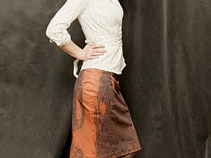 Превращаем испорченную юбку в эксклюзивный наряд. Ярмарка Мастеров - ручная работа, handmade.